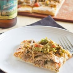 Pork Carnitas turned into a quick and easy pizza