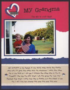 My Grandma - Scrapbook.com