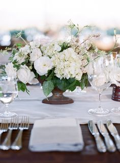 wedding centerpiece idea; photo: Sylvie Gil Photography