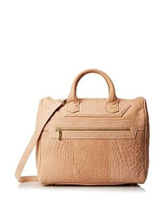 www.myhabit.com  Sophisticated leather satchel design features a top handle, exterior zip pocket and interior zip and slip pockets