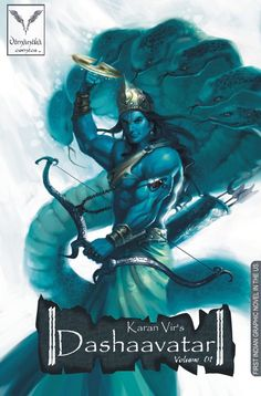 Dashaavatar-Vimanika Comics by Karanvir on deviantART #hindu #art