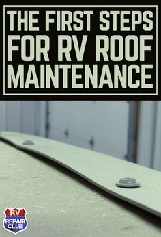 Whether your RV is your year round home or you use it as a vacation cabin, you're still going to get wear and tear on the structure. Heat and cold cause materials to expand and contract, and all sorts of weather combine to wear away at the outer surfaces. One of the most important parts of the RV to keep in top shape is the roof.