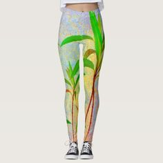 Tropical Pastel Leggings