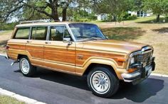 6th ride:  1982 Jeep Grand Wagoneer Limited - one of my favorites of all time.