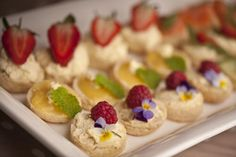 Party canapes on pinterest easy canapes canapes recipes for Canape dessert ideas