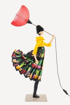 Skitso Girls Samantha Lampa - 85 cm Handmade Lamps, Best Sellers, Summer Dresses, Outdoor Decor, Girls, Toddler Girls, Summer Sundresses, Daughters, Maids