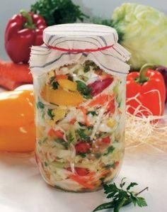 Салат капустный на зиму - Кулинарные рецепты от Веселого Жирафа