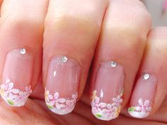 Nail art sticker designs