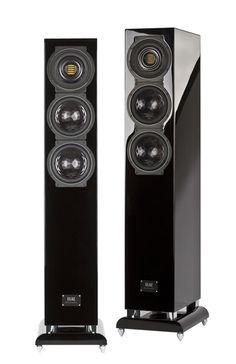 Elac FS 507 VX-JET   Standlautsprecher, Farbe: schwarz hochglanz