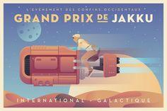 Grand Prix de Jakku by Justin Mezzell