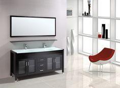 "Marbaya 60"" Bathroom Vanity - York Taps"