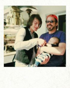 Robert Downey Jr. with his sons, Indio and Exton.