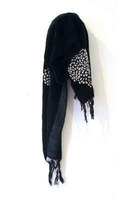 Martha handwoven cotton scarf