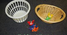 Two ordinary objects have become permanent fixtures in my office lately: Balloons and clothes baskets   I wanted to share a few quick ways ...