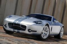 Ford Shelby GR-1 concept - all aluminum V10.