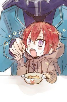 埋め込み Red Hair Men, Anime Siblings, Rainbow Light, Ensemble Stars, Bungou Stray Dogs, Wiccan, Kawaii Anime, Little Boys, Anime Guys