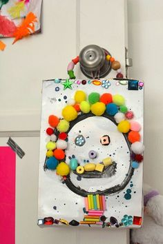 Meri Cherry cereal box art project for kids