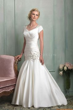 Vestido de novia Allure M511 Modest 2014