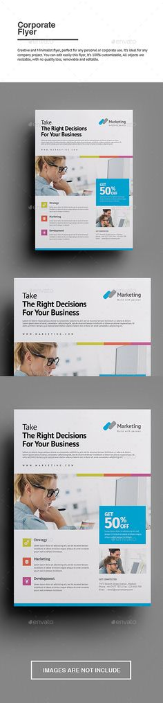 Buy Corporate Flyer by punkl on GraphicRiver. Corporate Flyer Creative and Minimalist flyer, perfect for any personal or corporate use. Brochure Layout, Brochure Design, Flyer Design, Layout Design, Print Design, Corporate Flyer, Business Flyer, Communication, Beautiful Web Design