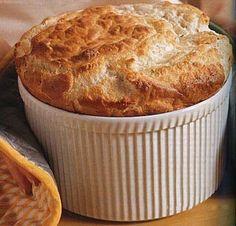 Gruyère and Parmesan Cheese Soufflé / Brian Leatart