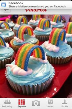 1st birthday party food idea-could be used for Rainbow horse?