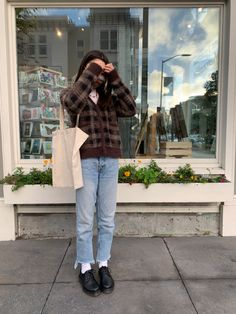 Mode Emo, Vetements Clothing, Fall Winter Outfits, Brown Boots Outfit Winter, Brown Chelsea Boots Outfit, Fall School Outfits, New York Winter Outfit, October Outfits, Cold Weather Outfits