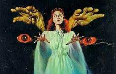 creepy, horror, and movie image Horror Posters, Horror Comics, Horror Art, Creepy Horror, Movie Posters, Retro Horror, Vintage Horror, Fantasy Kunst, Fantasy Art