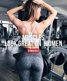 Muscles Look Great On Women