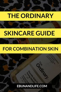 Do you have #combinationskin and you're looking for products to use? Try The Ordinary Skincare Guide for Combination Skin. #theordinaryskincare #skincareproducts #healthandbeauty #drugstorebeautyproducts #beautyhacks Skincare For Oily Skin, Oily Skin Care, Acne Prone Skin, Drugstore Skincare, Skincare Routine, Skincare For Combination Skin, The Ordinary Combination Skin, The Ordinary Skincare Guide, Korean Beauty Tips