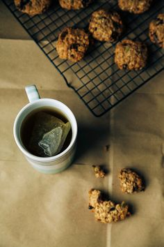 A whole grain cookie filled with healthy ingredients. Vegan, gluten-free + refined sugar-free.