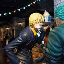 Zoro and Sanji bickering as always!