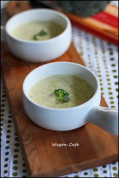 Wagon Cafe : ブロッコリーチェダースープ