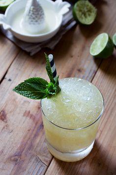 Mai Tai    Ingredients: 1 oz Jamaican rum1 oz rhum agricole1/2 oz orange curacao1 oz lime juice1/2 oz orgeat1/4 oz rich sim...