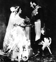 L'abito della Regina Vittoria d'Inghilterra