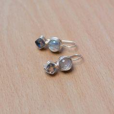 Amongst the Moon moonstone earrings
