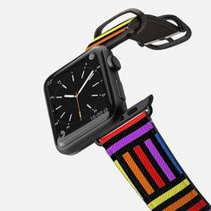 Colorful Weave - Saffiano Leather Watch Band Apple Watch 42, Apple Watch Bands, Apple Watch Bracelets, Leather Watch Bands, Tech Accessories, Casetify, Weave, Infinity, Arm