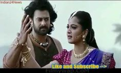 Bahubali and Devasena Fight and Romance Scenes from Baahubali 2 - The Conclusion