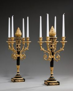 OnlineGalleries.com - Antique candelabra
