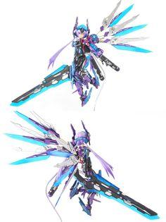 Female Character Design, Character Design Inspiration, Character Concept, Character Art, Character Reference, Sci Fi Anime, Fan Anime, Mecha Anime, Mecha Suit