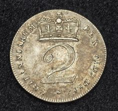 Coins of the United Kingdom Silver 2 Pence Coin of King George III. Foreign Coins, Gold And Silver Coins, Silver Bullion, Metal Detecting, World Coins, Rare Coins, Coin Collecting, Postage Stamps, Pound Sterling