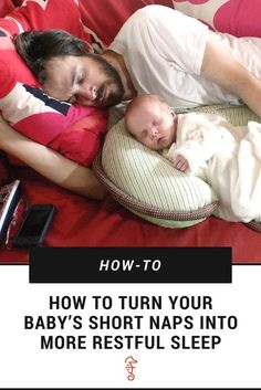 These baby napping tips for parents will help you get more sleep at night (hopefully).