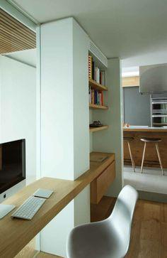 despacho integrado en pasillo