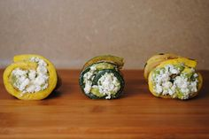 Honey Balsamic Grilled Zucchini with Avocado and Feta