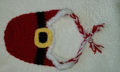 Check out this item in my Etsy shop https://www.etsy.com/listing/209897361/ready-to-ship-crocheted-santa-hat-with