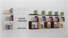 Intellectual Illusion - RetextureI've had this in my game for more than one year but I never got around to upload it until now. I'm preparing for uploading a house in which I've used this. I use it in most of my houses actually. ^_^ Anyway, this is a...