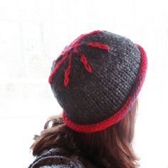 Roll 'em Up  Soft Hand Knit  Teen Adult size  by poppyandpurl, $35.00