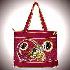 NFL Fairies, Bags and Shoes -  NFL Washington Redskins Tote Bag