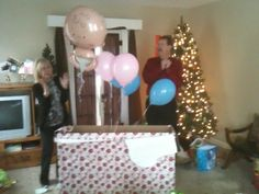 So cute to tell parents/family we're prego on birthday or christmas...