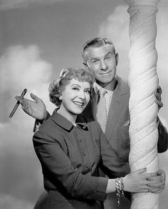 The Burns & Allen Show started into TV in 1950 and ran until the end of the 1957-58 season when in Feb of 58 Gracie announced her retirement from performance.