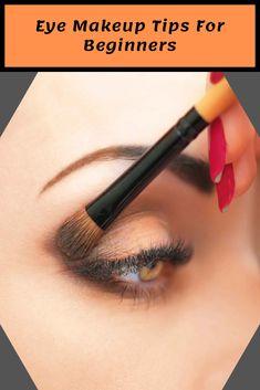 Eye Makeup Tips For Beginners Eye Makeup Brushes, Eye Makeup Tips, Makeup Eyeshadow, Beauty Makeup, Beauty Tips, Beauty Hacks, Eye Tricks, Makeup Tips For Beginners, Make Up